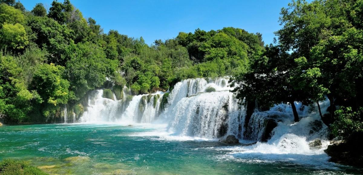 Krka National Park, een van de mooiste delen van Dalmatie