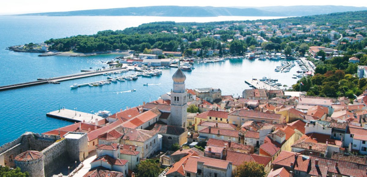 Top 6 bestemmingen in Kroatië
